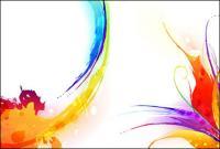 Tinte, Aquarell Muster-2