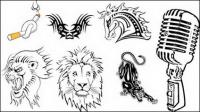 الطوطم، الوشم، والسجائر، الحصان، lionhead، ناقل ليوبارد