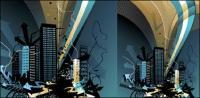 สถาปัตยกรรมแบบเวกเตอร์ชุดวัสดุ -12