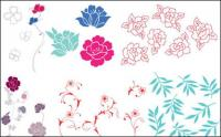 花、葉ベクトルの単純なケース
