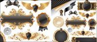 나비 매듭, 배지, 메달, 물개, 장식