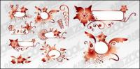 2008 decorative pattern vector material