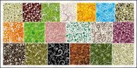 19, �ber die Fliese Muster Vektor-Hintergrund-material