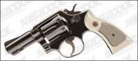 素材の拳銃をベクトルします。
