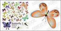 Vecteur de papillon 42 du matériel
