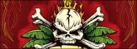 Skulls banner