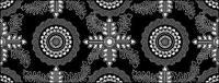 Vector fondo en mosaico tradicional material-25
