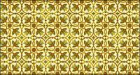 古典的なタイル パターン ベクトル-3