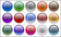 Vektor materiell Seite Design-Elemente - Runde Crystal ball