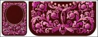 Continental patrón púrpura