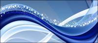 Aktiv blau Hintergrund Linien