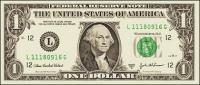 Notas de dólar material vector