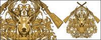 Padrão de Lutou continental sinais de fogo