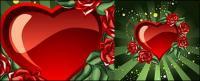 멋진 사랑과 장미