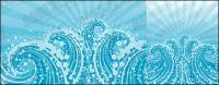 Sonhos de ondas azuis