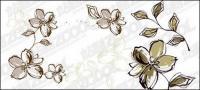 손으로 그린 꽃 스타일
