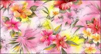 Pintados a mano por capas de material moda lily psd