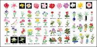 زراعة الزهور عنصر مكافحة ناقلات المواد 2