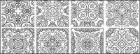 Logotipo de vector de patrón clásico