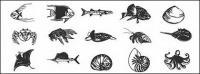 Fish and marine life