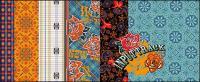 Mosaico patrón vector material-1