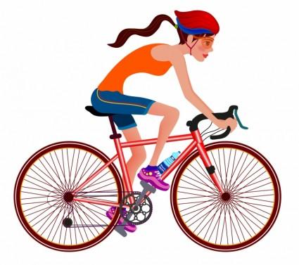 Bike Riding Clip Art Free