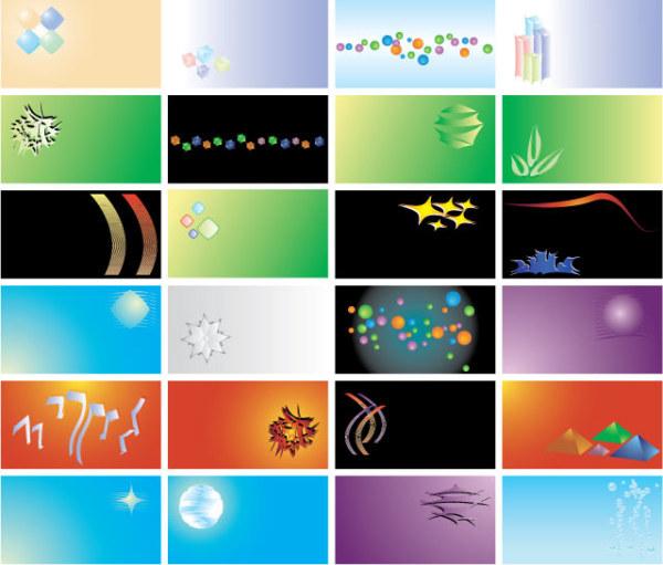 キーワード カード名刺テンプレート Eps のベクトルの背景素材 Free Download