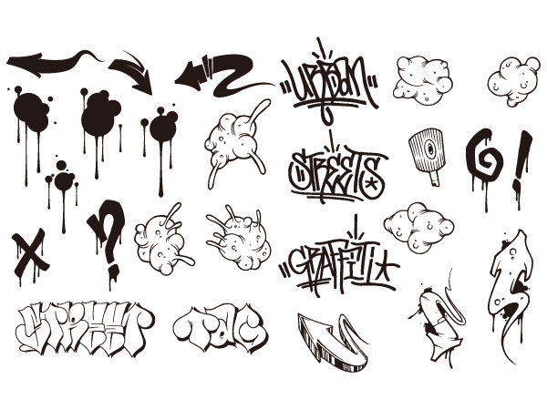 Graffiti Vector Art