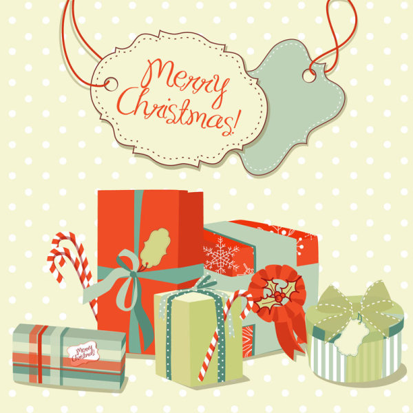 Beautiful Christmas pattern 03 - vector