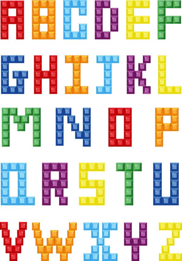 Palavras Chave Caixa Palavra Criativa Art 237 Stica Letras Letras Pixel Vetor Material Free