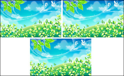 spring Vector material