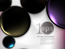 02--gorgeous stereo background vector material