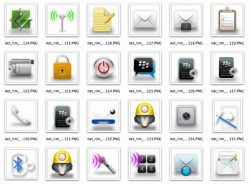 BlackBerry OS6.1 series icon