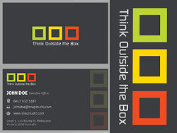 Elegant business card templates 04-PSD layered materials