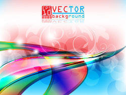 05--gorgeous stereo background vector material