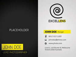 Elegant business card templates 03-PSD layered materials