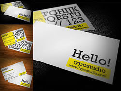 Elegant business card-PSD layered materials